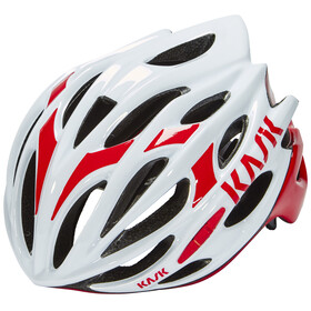 Kask Mojito Helm weiß/rot